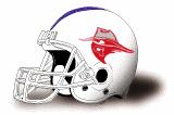 Oklahoma Panhandle State helmet NEW
