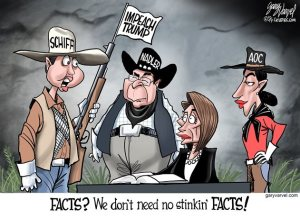 Pelosi and posse and no stinkin badges joke