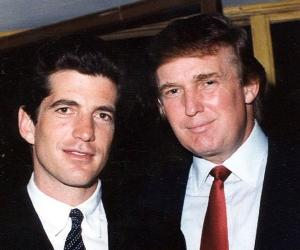 Trump and JFK Jr
