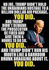 Biden crooked