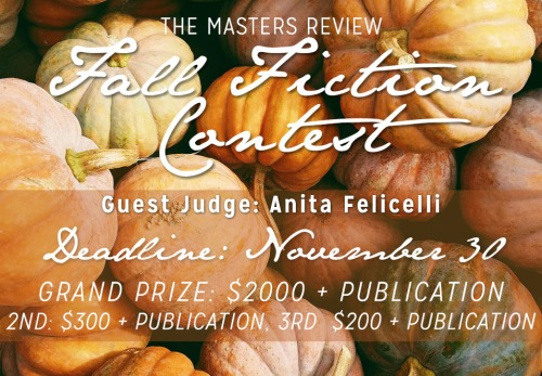 Fall Fiction contest