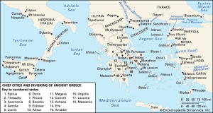Greece and their western colonies