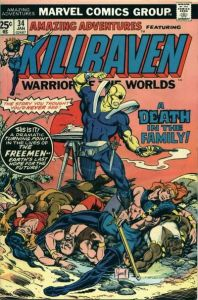 Killraven death in the family