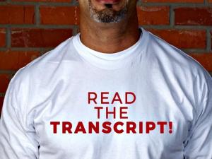 read the transcript