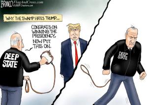 Trump resisting the Deep State