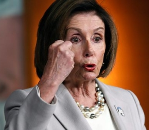 Crazed Nancy Pelosi