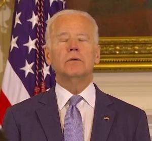 Joe Biden senile man