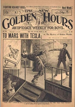 To Mars With Tesla