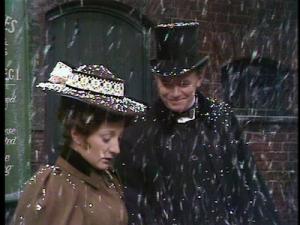 Martin Hewitt in snow
