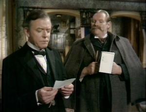 Martin Hewitt with Inspector