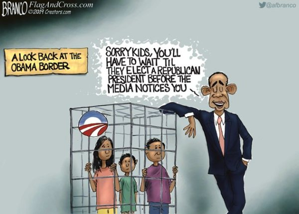 Obama kids in cages