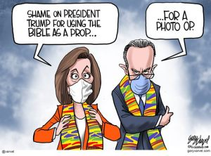 Pelosi and Schumer and Kente cloth