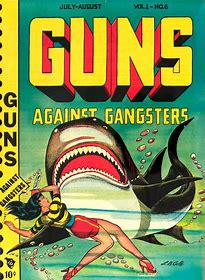 Gunmistress and shark