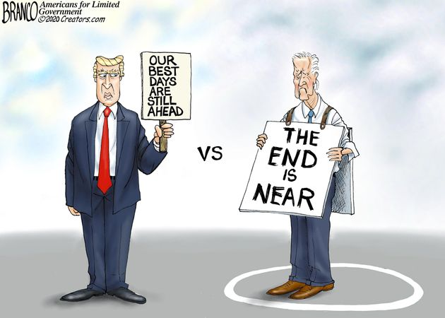 biden defeated and old