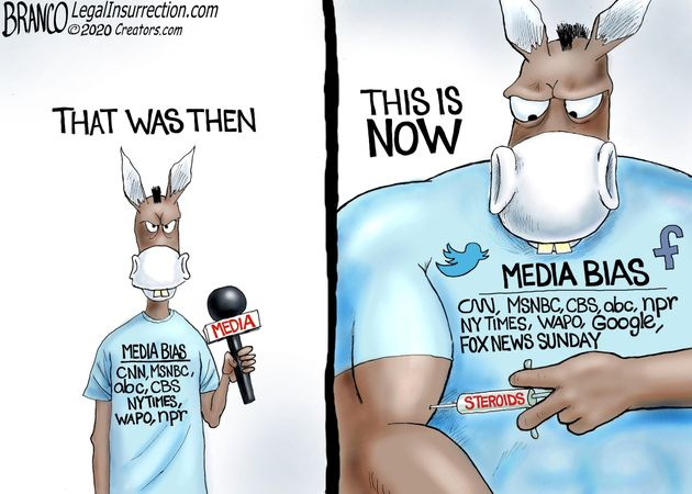 democrat media bias