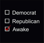 democrat republican or awake