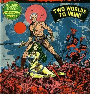 Marvel Comics Gullivar Jones