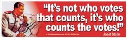 stalin vote quote