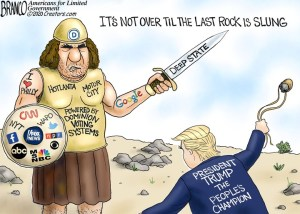 trump vs goliath
