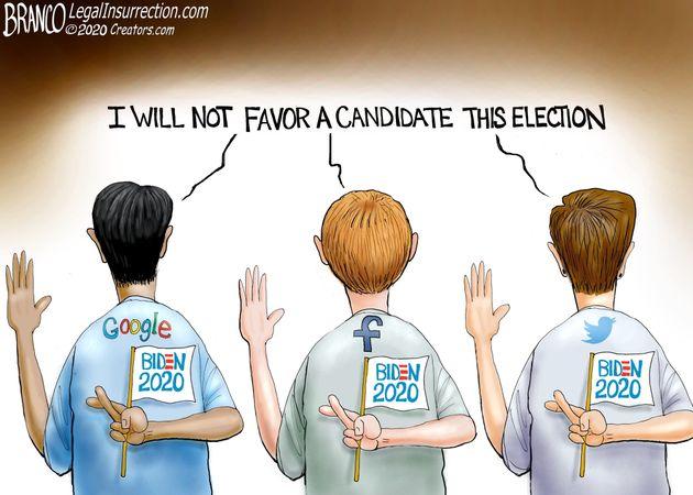 Biden and techno fascists