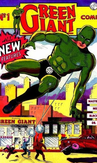Green Giant cover