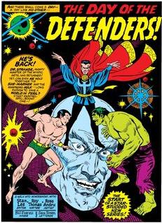 Marvel feature 1 splash page