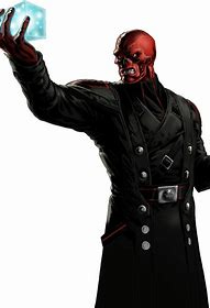 Red Skull and Cosmic Cube Tesseract