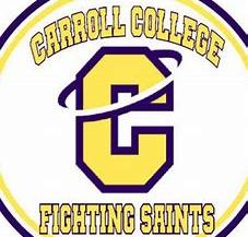 Carroll College fighting saints logo