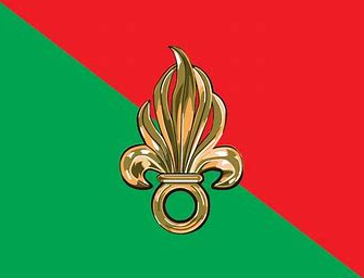 French Foreign Legion flag