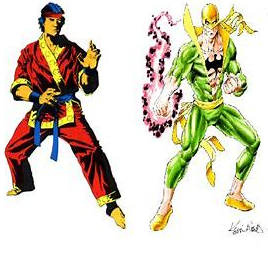iron fist and shang chi
