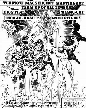 Iron Fist and the others