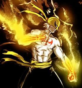 Iron Fist shirtless