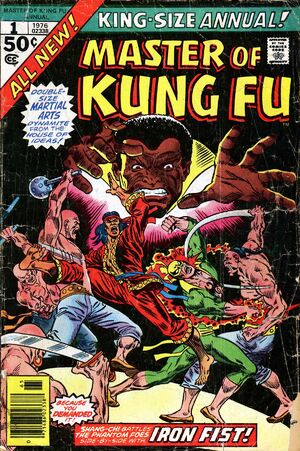 master of kung annual