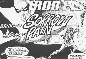 Silver Dragon on Bridge of Pain