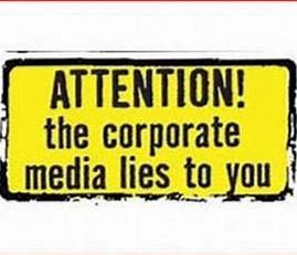 corporate media lies