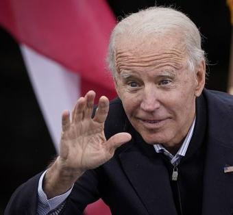 Tiny hands Joe Biden