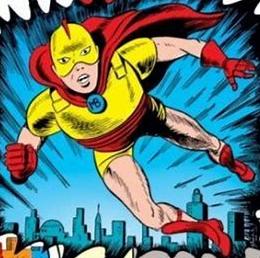 marvel boy yellow