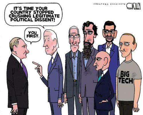 Biden crushing dissent