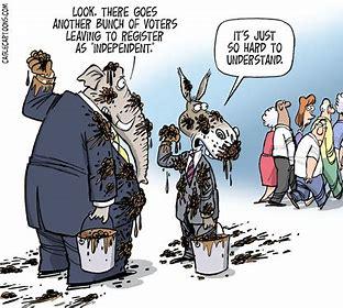 independent voter cartoon