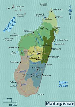 map of madagascar pic