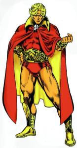 adam warlock pose