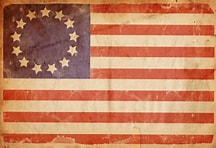american flag revo war