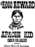 apache kid wanted poster