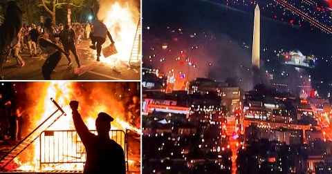 biden riots in dc