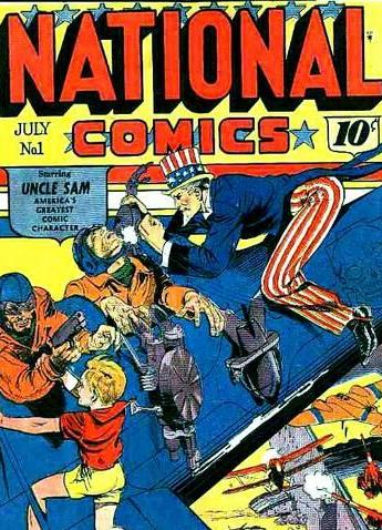 national comics 1