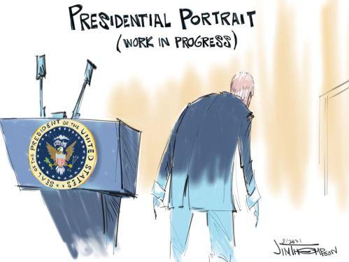 biden presidential portrait