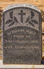 hermann wolf grave