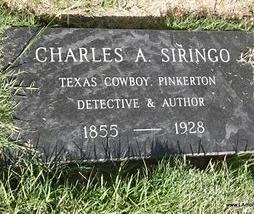 siringo's grave