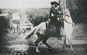 soapy on horseback