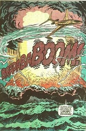 island blows up